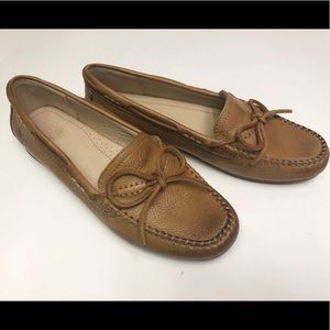 Frye Janet Tie- SVL Shoes Camel 7 New